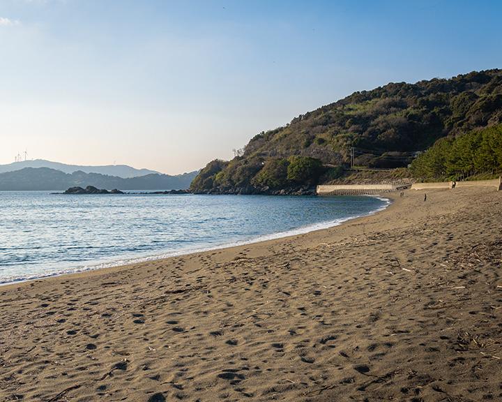 雪浦海浜公園(通称:うしろの浜)