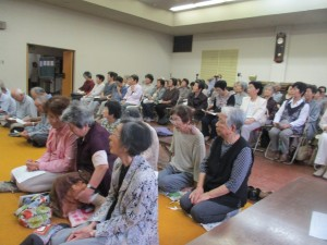 80人余りの方々が出席されていました。
