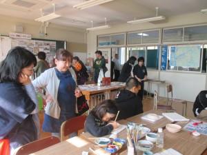 西彼杵高校『西濤祭2016』に雪浦ウィークも参加しました。