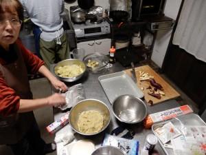 芋ようかん作り