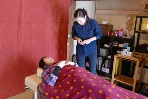 体験メニュー、美容鍼灸(陽鍼はり灸)