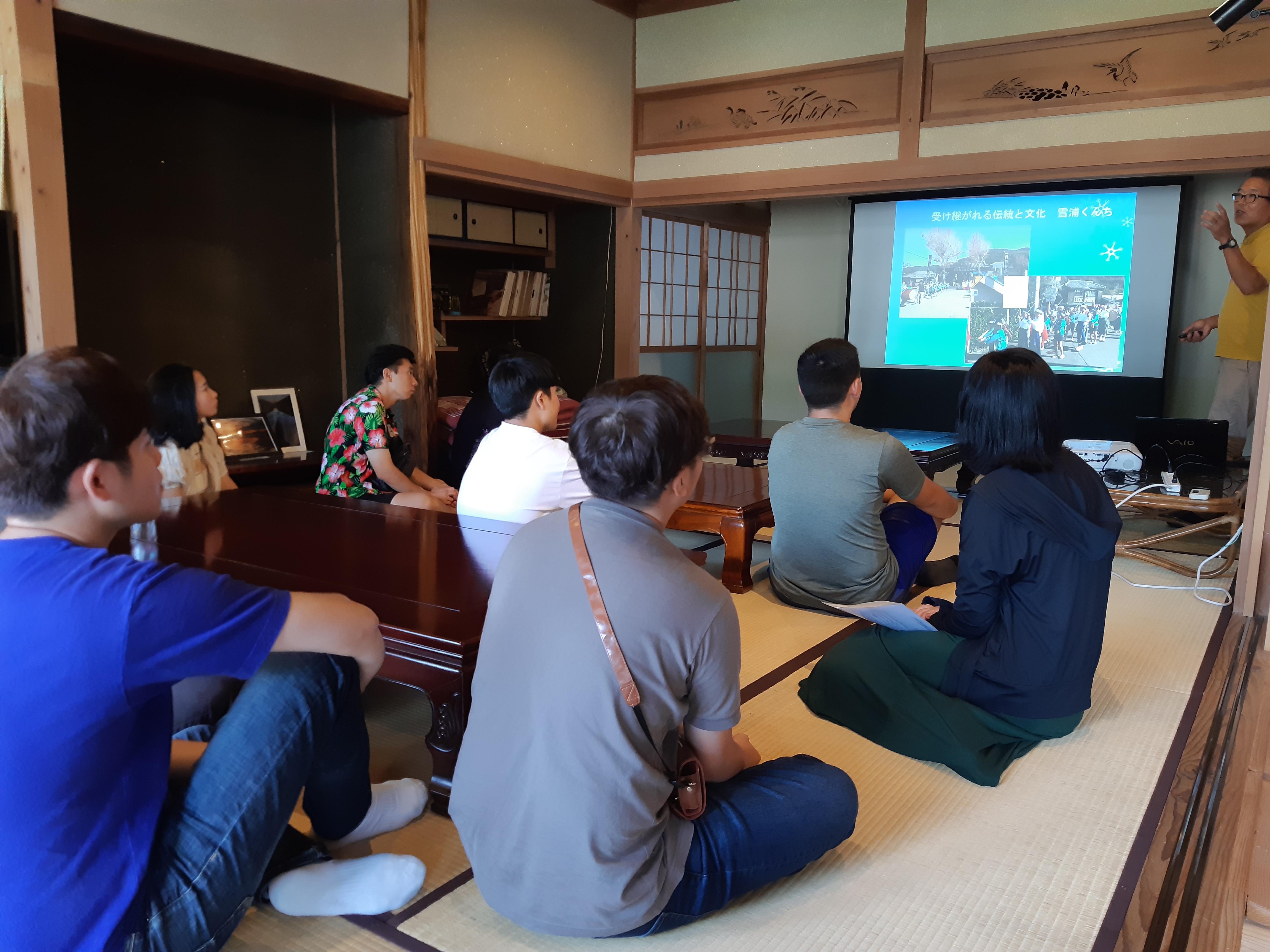 長崎国際大学留学生、フィールドワークin雪浦