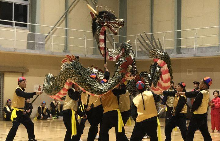 雪浦くんち2019 今年は南区の龍踊りが奉納されます。~人揃い-にんぞろいの様子から~~