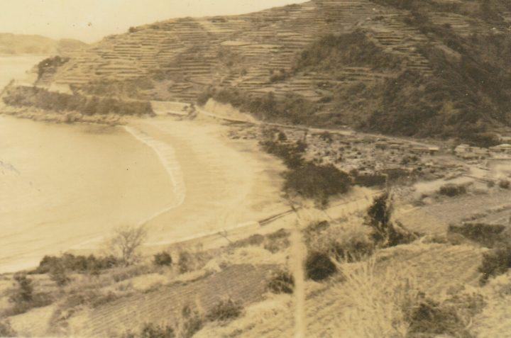 後ろの浜を守りたい。