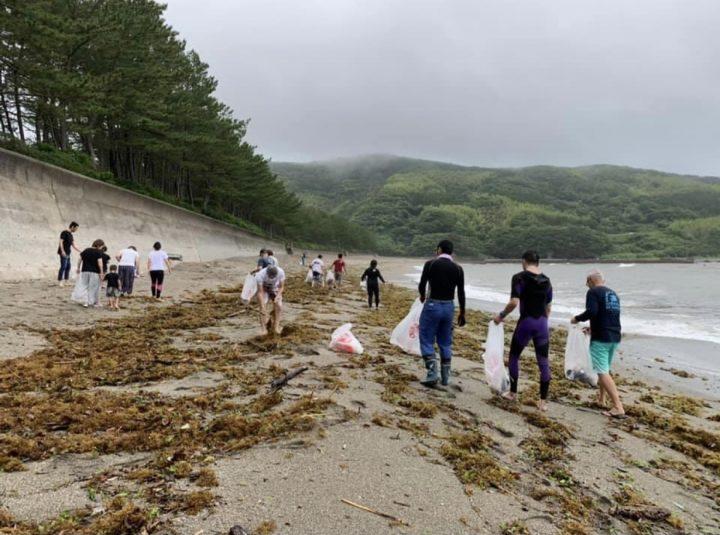 みんなでうしろの浜をきれいにしよう!! 〜ビーチクリーンアップのお知らせ