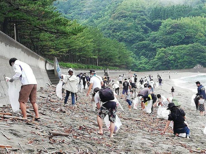 【7月18日(日)】海の日・後ろの浜清掃のご案内